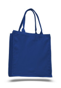 Pack of 6 - Cottom Canvas Fancy Shopper Tote Bag - Size 38cm w X 41cm h X 15cm d