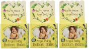 Earth Mama Angel Baby Bottom Balm Zinc & Lanolin Free Calendula Herbal Nappy Cream, 2 Fluid Ounce