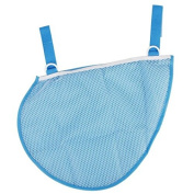 Cindy & Will 1Pcs Waterproof Screen Cloth Baby/Infant/Kids Stroller/Pushchair/Pram Mesh Side Hanging Bag Toy/Nappy/Wipe Holder/Storage Organiser----Saving Space, Blue