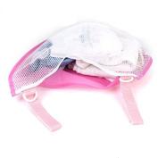 Cindy & Will 1Pcs Waterproof Screen Cloth Baby/Infant/Kids Stroller/Pushchair/Pram Mesh Side Hanging Bag Toy/Nappy/Wipe Holder/Storage Organiser----Saving Space, Pink
