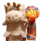 My Pet Blankie Giraffe Bundle with Baby Toy