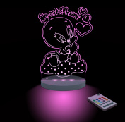 Warner Bros. Baby Tweety Sweetheart Night Light