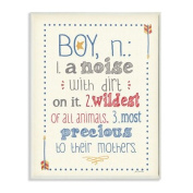 The Kids Room by Stupell Textual Art Wall Plaque, A Noise with Dirt on It