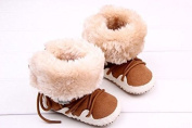 2015 Hot Selling Winter Newborn Warm Snow Baby Boots Comfortable Indoor Toddler Shoes Solid Cross-tied Anti-skid Bebe Boots