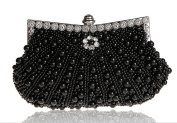 Kingluck Satin with Pearl and Diamond Wedding /Special Occasion Evening Handbags/Clutch