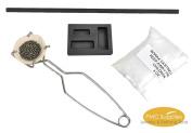 Torch Melting Gold Silver Kit Set Crucible Borax Tong Rod Graphite Combo Mould