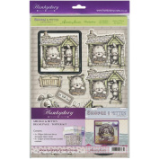 Smudge & Mitten (And Rascal Too!) Decoupage-Topper Kit A4-