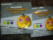 Felt Pumpkin Decorating Kit- Makes 4