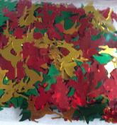 Metallic Christmas Shape Multi Colour Confetti 30ml Tree Reindeer Santa