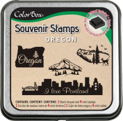 Clearsnap ColorBox Souvenir Stamps, Oregon