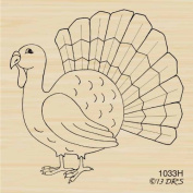 Classic Turkey Rubber Stamp By DRS Designs