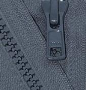 70cm Vislon Zipper ~ YKK #5 Moulded Plastic Sport Zipper ~ Separating - 579 Dark Grey