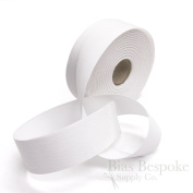 20 Metre Roll of White 100% Cotton Twill Tape, 40mm Wide, Made in Italy