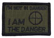 I'm Not In Danger, I Am The Danger 2x3 Military Patch / Morale Patch - Multiple Colour Options