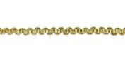 Belagio Enterprises 13cm - 41cm Metallic Braid Trim 25 Yards, Gold