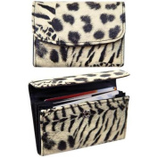Manual Woodworkers Diva On The Prowl Multi Animal Print Credit Card Wallet