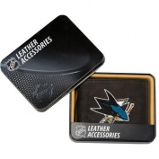 NHL - Men's San Jose Sharks Embroidered Billfold Wallet