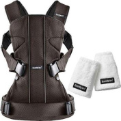 Baby Bjorn - Baby Carrier One with Teething Pads - Mesh - Brown Black