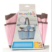 Munchkin Portable Nappy Caddy - Pink