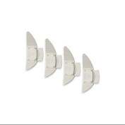Kidco Sliding Closet Door Lock, 4-Pack