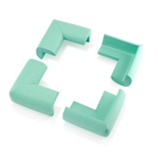 1Pc Child Baby Kids Safety Corner Edge Protectors Soft Cover Protector Cushion Guard - Green