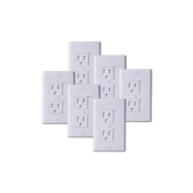 KidCo Universal Outlet Cover 6 Pack - White