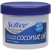 Softee Coconut Oil Hair & Scalp Conditioner, 90ml