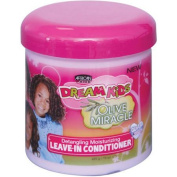 African Pride Dream Kids Olive Miracle Detangling Moisturising Leave-In Conditioner, 440ml