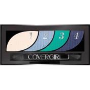 COVERGIRL Eye Shadow Quad, 725 Breathtaking Blues, 0ml