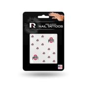 Ohio State Buckeyes Official NCAA 2.5cm x 2.5cm Fingernail Tattoo Set by Rico Industries