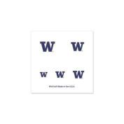 Washington Huskies Official NCAA 2.5cm x 2.5cm Fingernail Tattoo Set by Wincraft