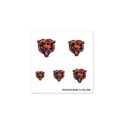 Chicago Bears Official NFL 2.5cm x 2.5cm Fingernail Tattoo Set by Wincraft