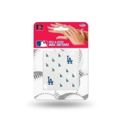 Los Angeles Dodgers Official MLB 2.5cm x 2.5cm Fingernail Tattoo Set by Rico Industries
