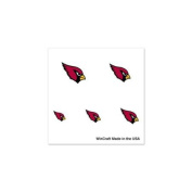 Arizona Cardinals Official NFL 2.5cm x 2.5cm Fingernail Tattoo Set by Wincraft