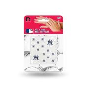 New York Yankees Official MLB 2.5cm x 2.5cm Fingernail Tattoo Set by Rico Industries
