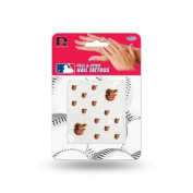 Baltimore Orioles Official MLB 2.5cm x 2.5cm Fingernail Tattoo Set by Rico Industries