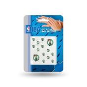 Boston Celtics Official NBA 2.5cm x 2.5cm Fingernail Tattoo Set by Rico Industries