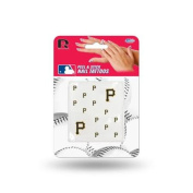Pittsburgh Pirates Official MLB 2.5cm x 2.5cm Fingernail Tattoo Set by Rico Industries