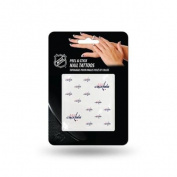 Washington Capitals Official NHL 2.5cm x 2.5cm Fingernail Tattoo Set by Rico Industries