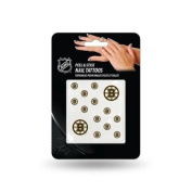 Boston Bruins Official NHL 2.5cm x 2.5cm Fingernail Tattoo Set by Rico Industries