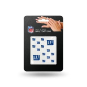 New York Giants Official NFL 2.5cm x 2.5cm Fingernail Tattoo Set by Rico Industries