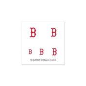 Boston Red Sox Official MLB 2.5cm x 2.5cm Fingernail Tattoo Set by Wincraft