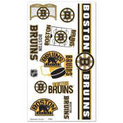 Boston Bruins Official NHL 10cm x 18cm Temporary Tattoos by Wincraft