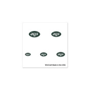 New York Jets Official NFL 2.5cm x 2.5cm Fingernail Tattoo Set by Wincraft