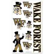 Wake Forest Demon Deacons Official NCAA 10cm x 18cm Temporary Tattoos by Wincraft