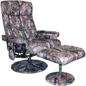 Relaxzen Realtree Camouflage 8-Motor Massage Recliner with Heat
