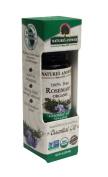 Essential Oil Organic Rosemary Nature's Answer 15ml Liquid