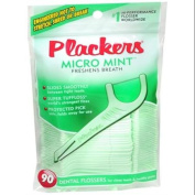 PLACKERS Dental Flossers Micro Mint 90 Each