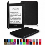 Fintie The Thinnest and Lightest Case SmartShell Cover for All-New Amazon Kindle Paperwhite, Black