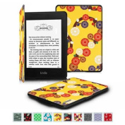 Fintie The Thinnest and Lightest Case SmartShell Cover for All-New Amazon Kindle Paperwhite, Mesmerising Floral